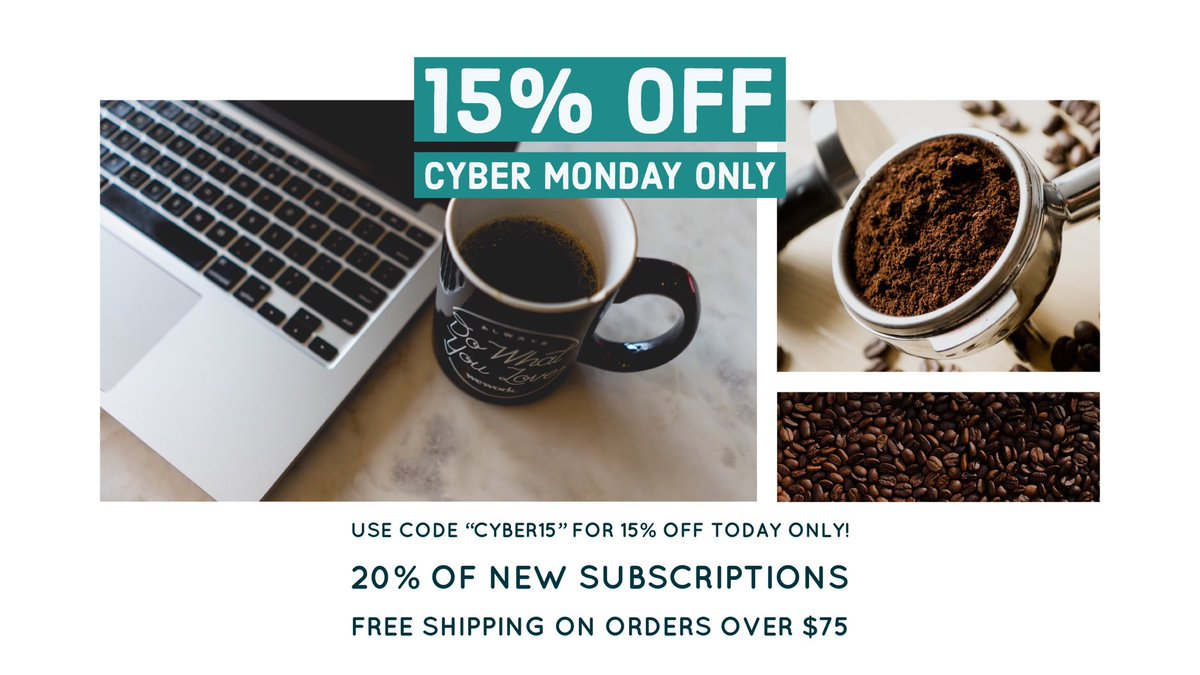 Kings Coast Coffee On Twitter Today Only 15 Off