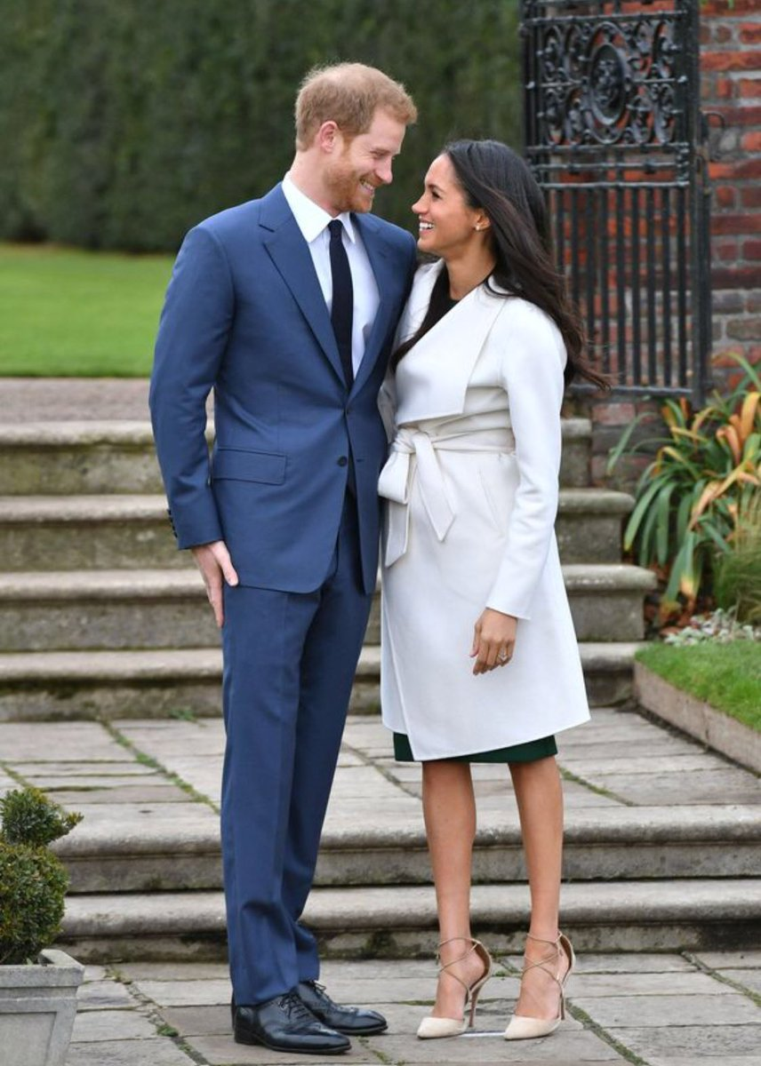 Prince Harry and Meghan Markle officially engaged