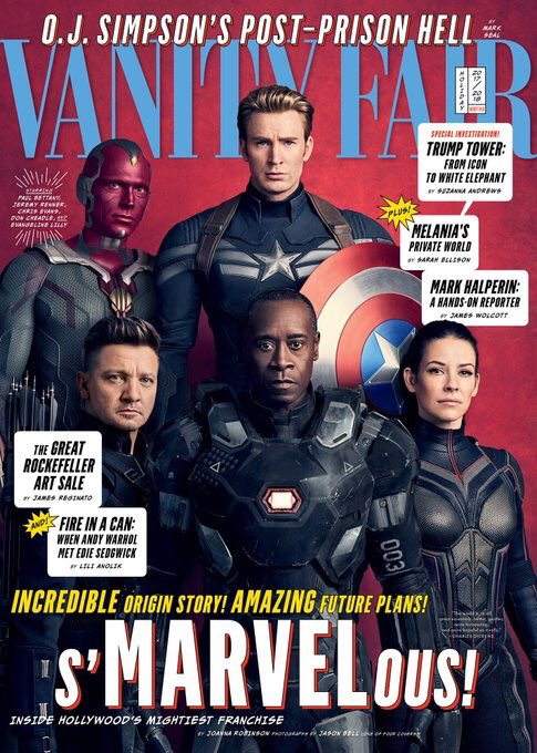 Check out these brand new #InfinityWar covers from @VanityFair! More info: https://t.co/yxHjj4Zah7