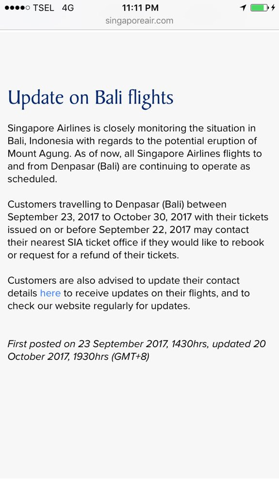 Singapore Airlines on Twitter: