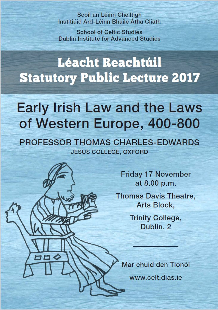 test Twitter Media - School of Celtic Studies Statutory Public Lecture took place on 17th November at Trinity College Dublin. Watch it online here  https://t.co/9iRVR2HGWH #DIASDublin #SCSTIONOL2017 https://t.co/4WzGlwM1Ns