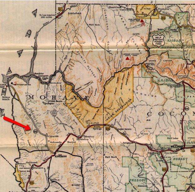 Arizona Dot On Twitter Adot Highway Trivia Answer Is Sr 96 See - Us-93-arizona-map