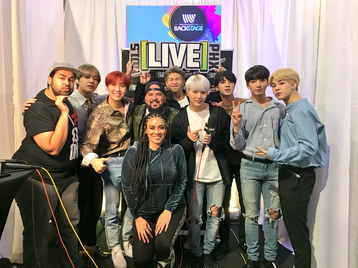 We've got a special gift for the #BTSARMY coming up in the 9AM hour with #TheMorningMess ???????? https://t.co/KxLJu1Bdnb
