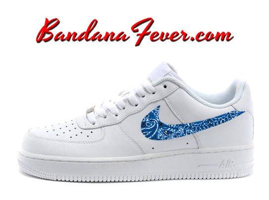 Bandana Fever On Twitter Custom Royal Blue Bandana Nike Air
