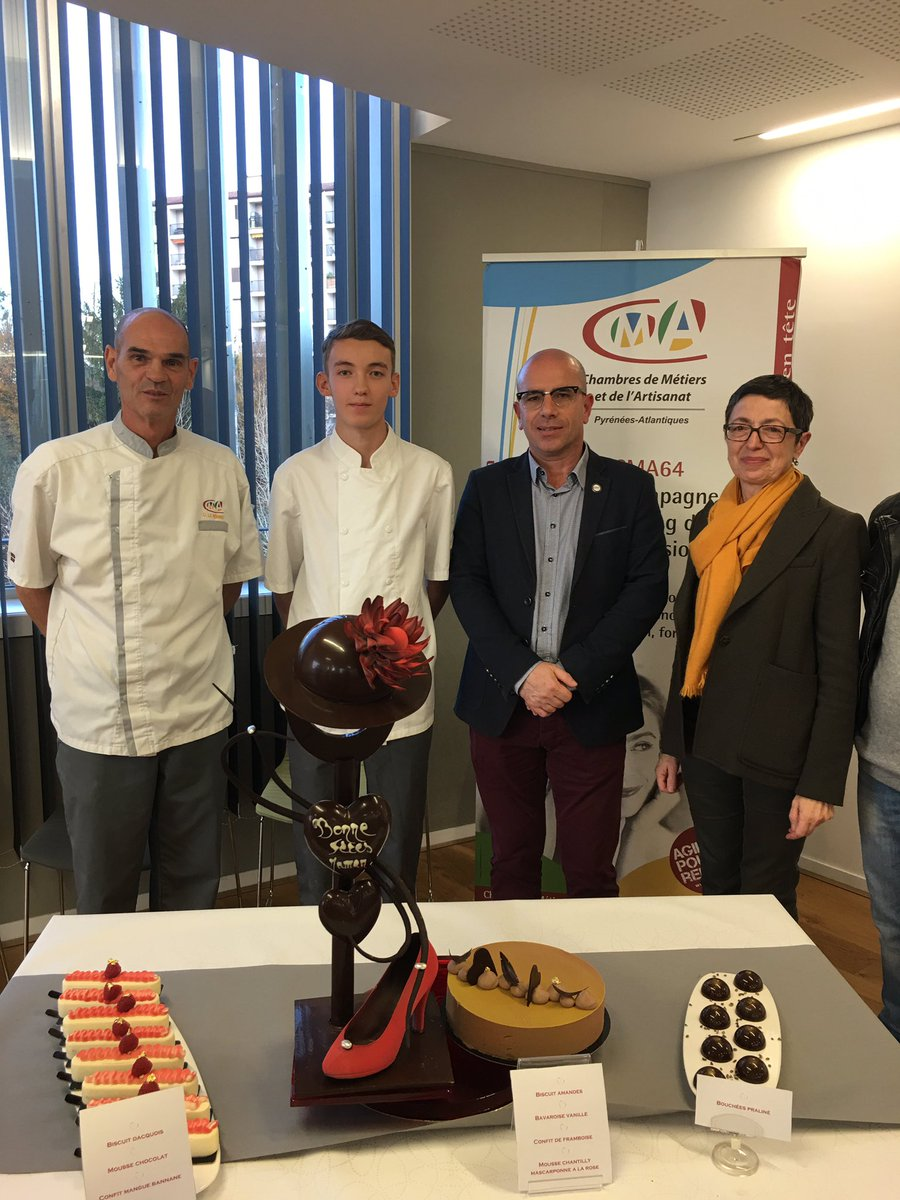 Artisanat64 On Twitter Selection Regionale Du Meilleur Apprenti De France Patissier 2018 Bravo Au 64 Bravo A Antoine Casano Mention Complementaires Patisserie A L Universite Des Metiers De Bayonne Https T Co Dbrceqwvkt