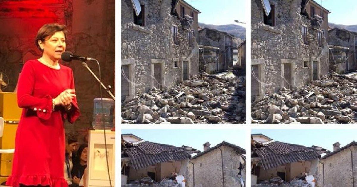 'Le zone del sisma si stanno riprendendo'. De Micheli si esalta alla Leopolda, i terremotati inferociti: 'Menzogne, qui è il Dopoguerra' https://t.co/aX77QURmd3 DI @clapaudice
