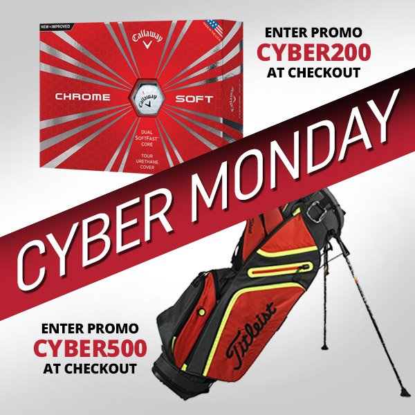 8db1ddd1d40 Spend  500 get a Free Stand Bag + FREE SHIPPING Site Wide. Shop http   www. 2ndswing.com for the best Cyber Monday Golf Deals!