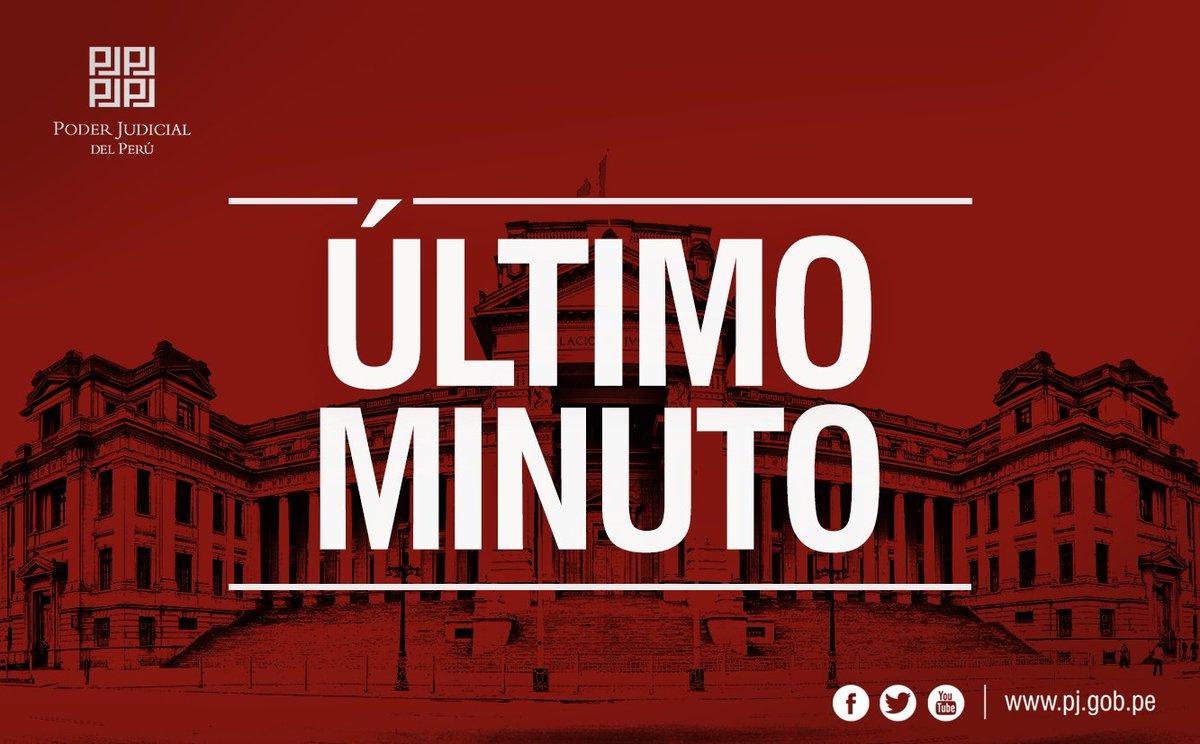 Poder Judicial Perú on Twitter: \