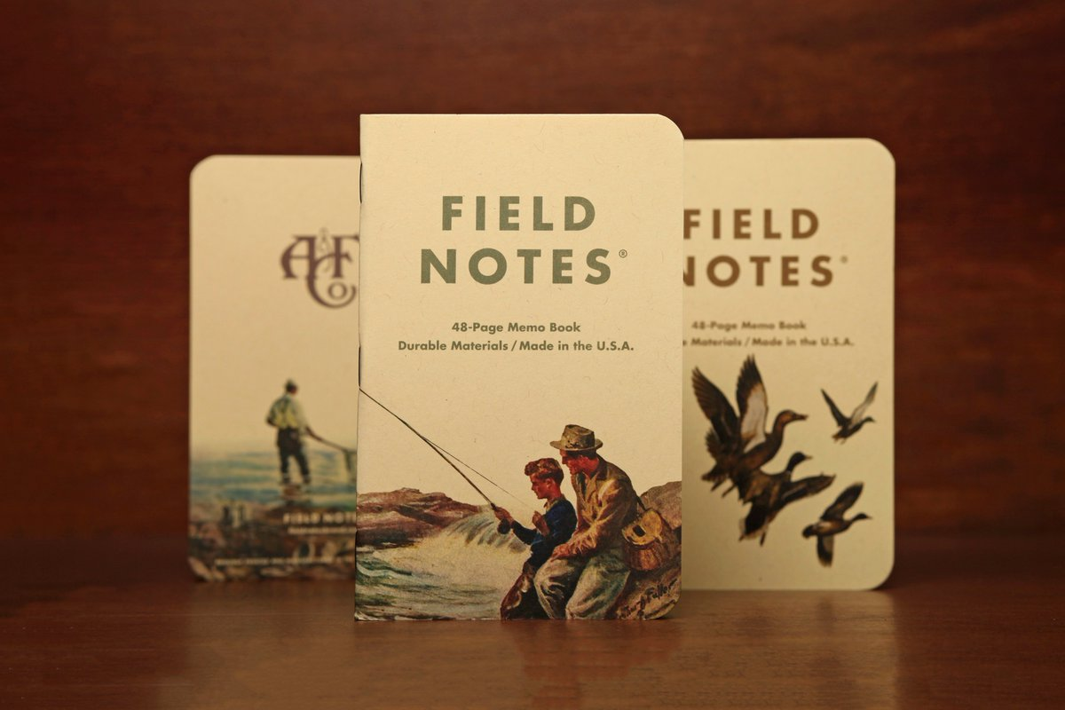 field notes on twitter 1 of 3 sets we made in collaboration w