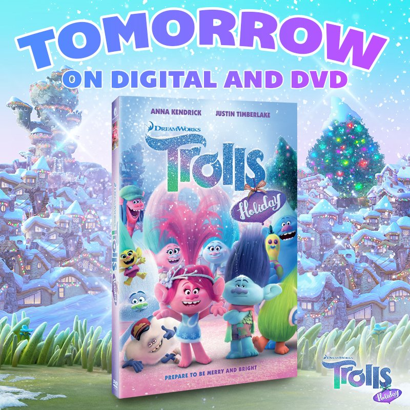 DreamWorks Trolls On Twitter Its Almost Time To Bring Home