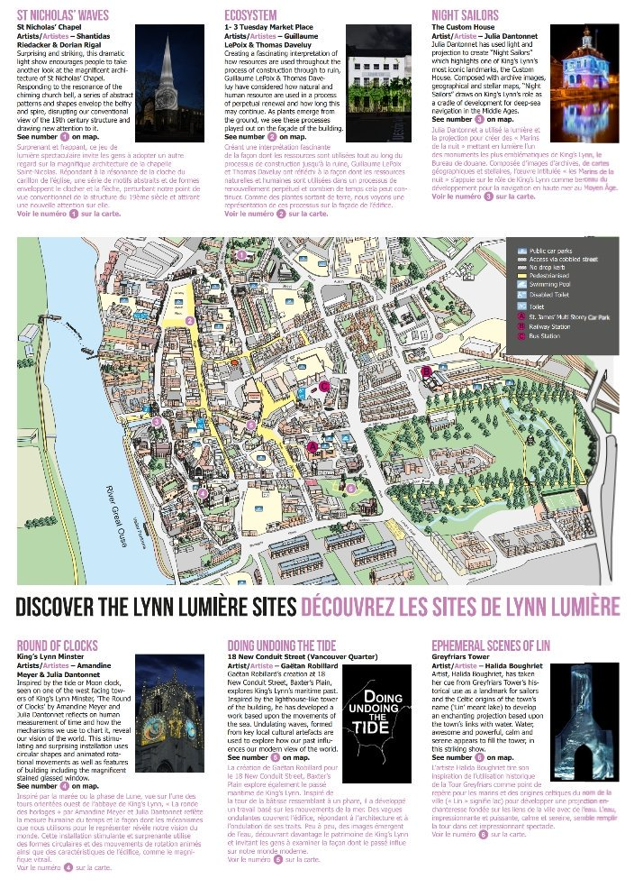 The Lynn Lumiere lights up some of Kings Lynns stunning buildings with an amazing animated light display every evening from dusk follow the guide for an amazing free light show!👌 #LoveWestNorfolk #Norfolk