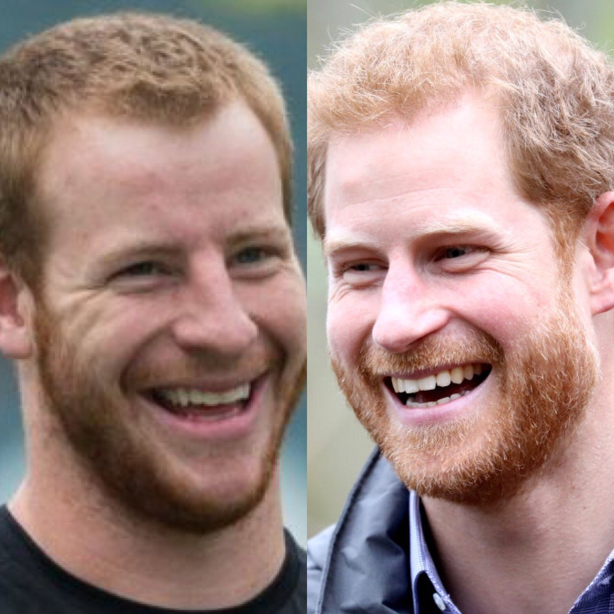 Pictures Of Carson Wentz And Prince Harry