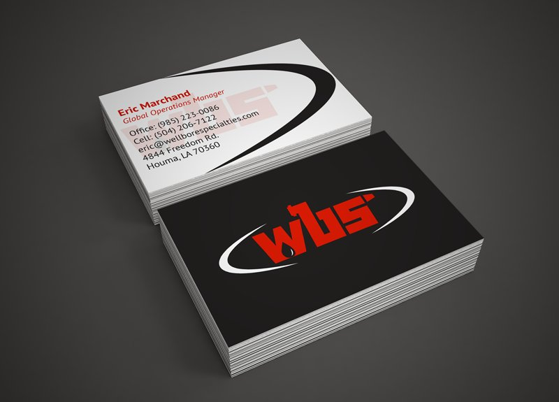Orhan mc millan orhanmc twitter business card for wbs as part of their rebranding project going from wellbore specialties to wbs the industrial clean out company underwent an entire reheart Gallery