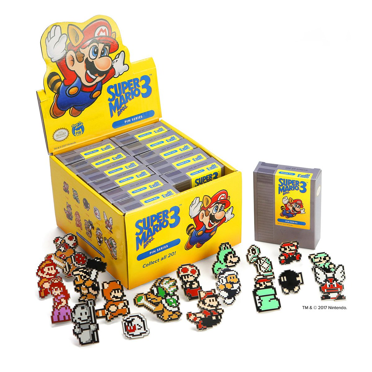Pinny Arcade On Twitter Our Super Mario Bros 3 Blind Box Pins Overall Set Get Your Boxes And Cases Now Https Storepenny Arcadecom Products Nintendo Supermariopic Btdjdi0bwl