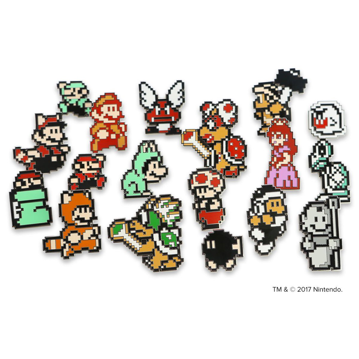 pinny arcade on twitter our super mario bros 3 blind box pins
