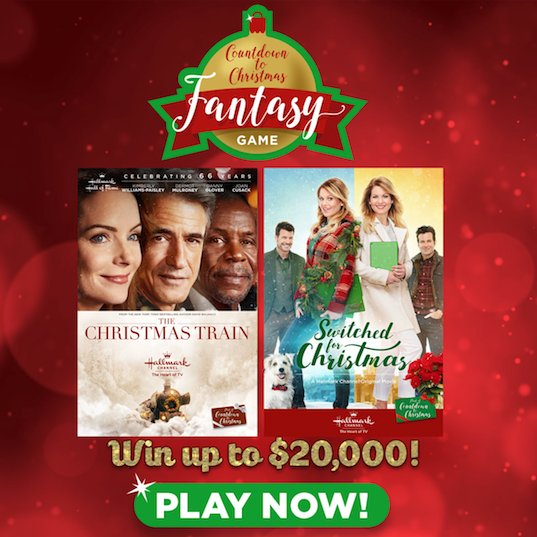 hallmark channel on twitter dont forget to pick your countdown to christmas fantasy team from last weekends movie lineup for a chance to win