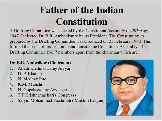 ideological basis of indian constitution