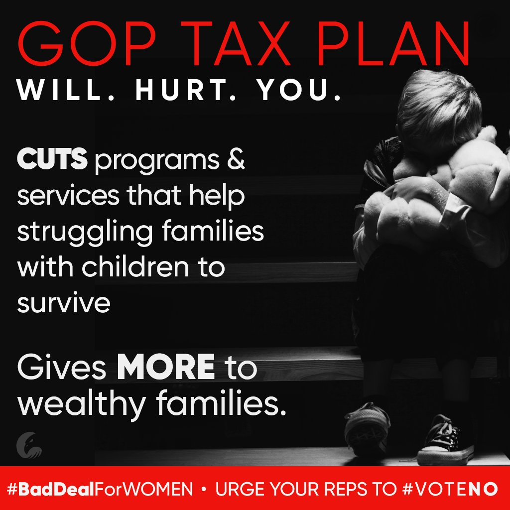 MAKE THEIR PHONES RING OFF THE HOOK!  SENATE SWITCHBOARD: 202-224-3121  #GOPTaxPlan #BadDealForWomen