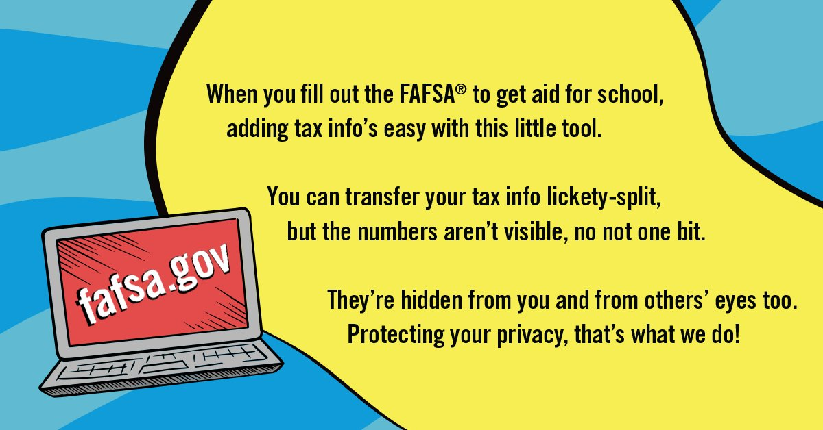 Federal Student Aid On Twitter The Irs Data Retrieval Tool Is Back