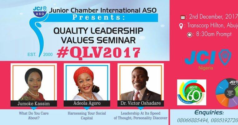 #QLV2017 Abuja Is Holding At Transcorp Hilton This December  http:// dlvr.it/Q38Fjs  &nbsp;  <br>http://pic.twitter.com/11qYbNvfvL