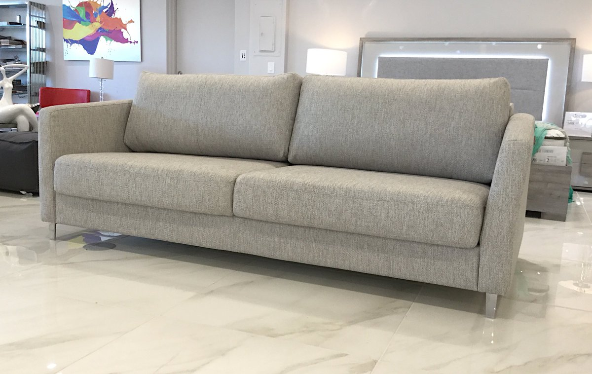 Meet The Rachel Sleeper Sofa. With A Smart Mechanism, It Transforms Into A  Very Comfortable Twin Or King Bed In Seconds. #SmartHome  #Elegantpic.twitter.com/ ...