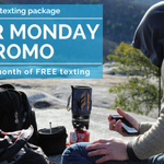 Text while you travel with our Cyber Monday promo that includes Canadian AND global texting. Purchase your texting pack today! More details: https://t.co/e7jl2RdXnR