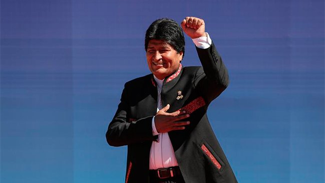 The proposal for Evo Morales re-election gets more support.