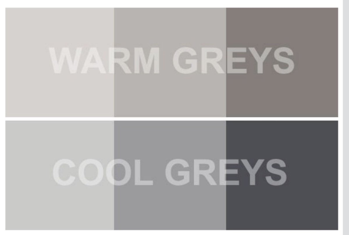 اسألني عن التصميم Twitter પર للرمادي درجات دافئة وباردة احرص على اختيار درجة اللون المناسبة للمكان وللدرجات الاخرى المصاحبة للرمادي