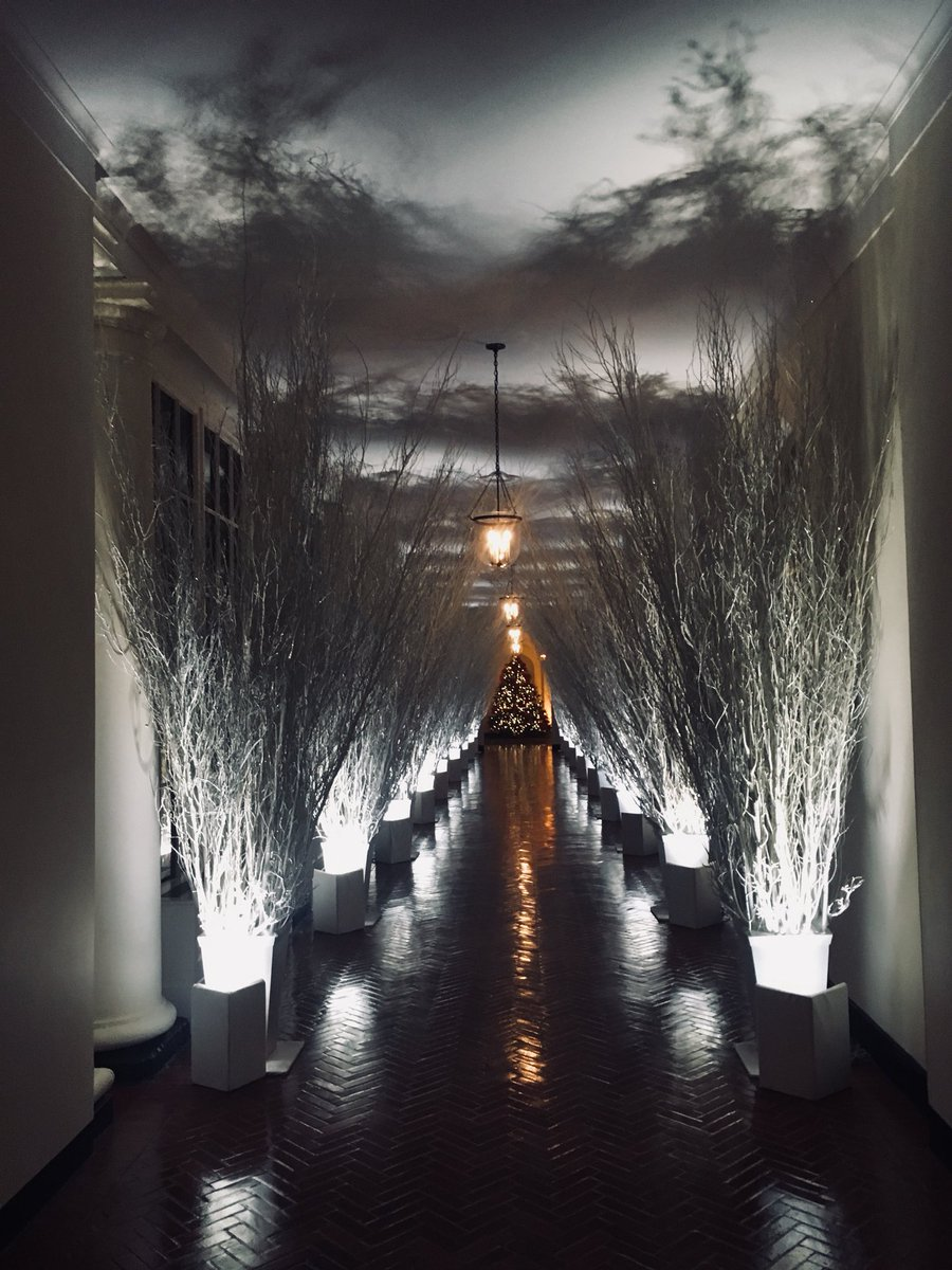 jesse mclaren on twitter i photoshopped jack skellington into melanias christmas decor and honestly i like it now
