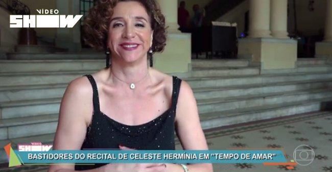 Marisa Orth sobre o desafio de cantar fado em #TempoDeAmar: 'É muito difícil' ➡️ https://t.co/iT2cH7kaQL #VídeoShow