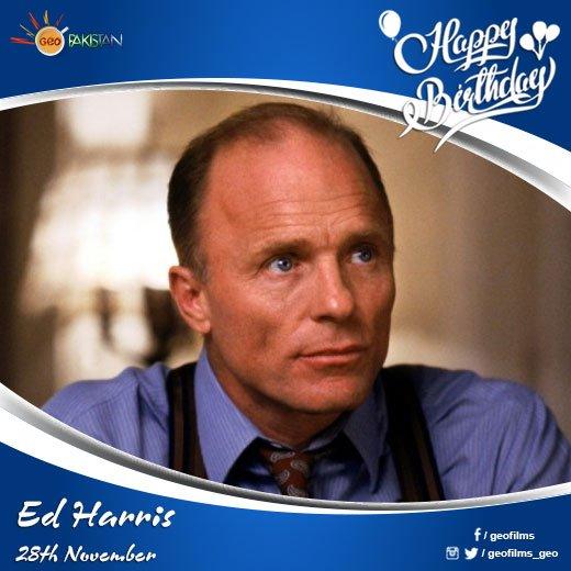 Happy Birthday Ed Harris