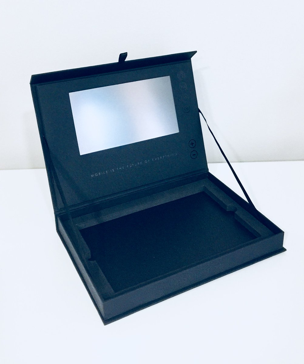 Fuse Innovation On Twitter Discover This Super Slim And Sleek 7 Box Buttons Black Ribbon Opening Tab With Push To Adjust The Volume Forward Rewind Through Video Options A Small Inner Tray For Marketing Materials