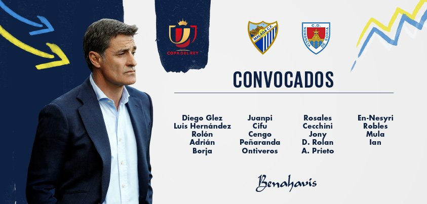 DPt3rluX4AE8rAW Convocatoria del Málaga para la vuelta de Copa ante el Numancia - Comunio-Biwenger