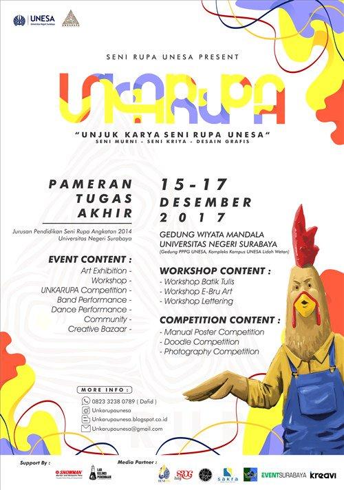 Event Surabaya على تويتر Unkarupa Unjuk Karya Seni Rupa