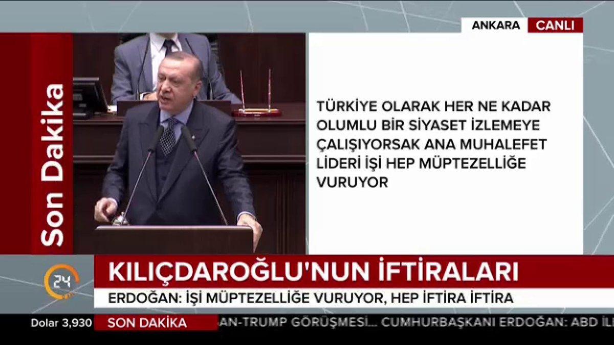 Cumhurbaşkanı @RT_Erdogan: 'CHP başımıza...