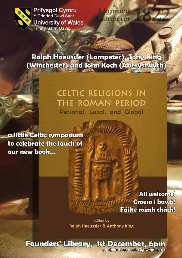 Classics Uwtsd On Twitter All Welcome To The Celtic Symposium And