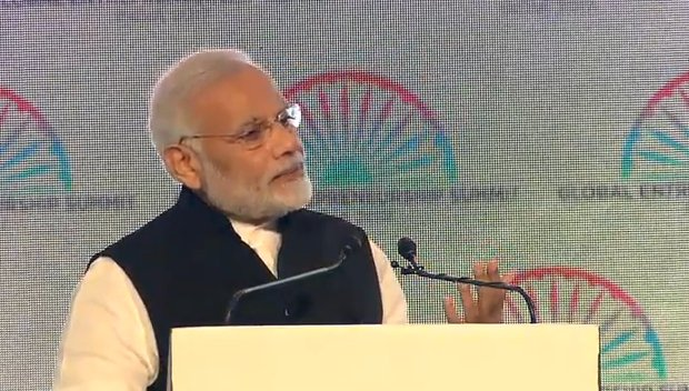 In India, we have constitutionally provided for not less than one third of women representation in rural and urban local bodies, ensuring women's participation in grass-root level decision making : PM @narendramodi https://t.co/0idq7uEFkI @GES2017