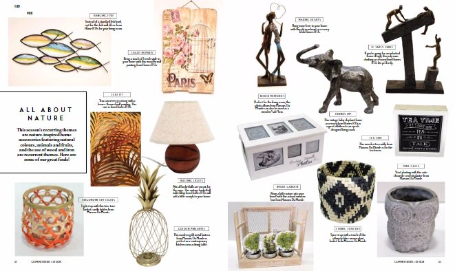 Nature inspired home accessories from maisons du monde and homes r us at mall of qatar gid gidthemix what would you add to your home