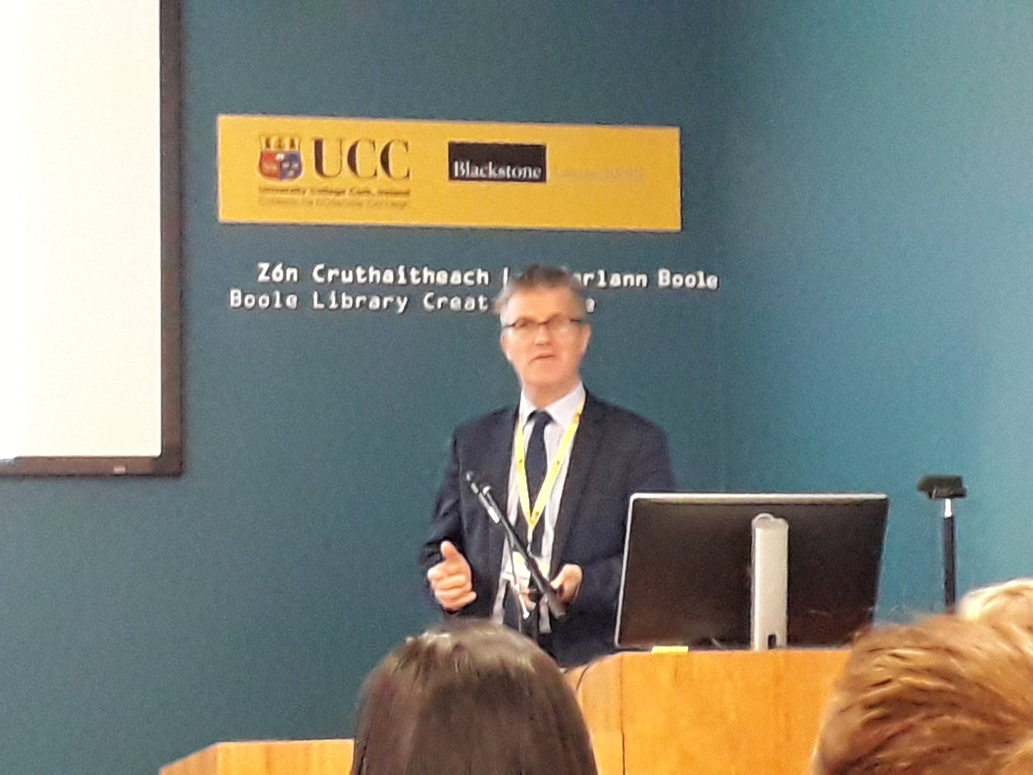 "damien raftery on twitter: ""great welcome from ucc for #tlspeeds"