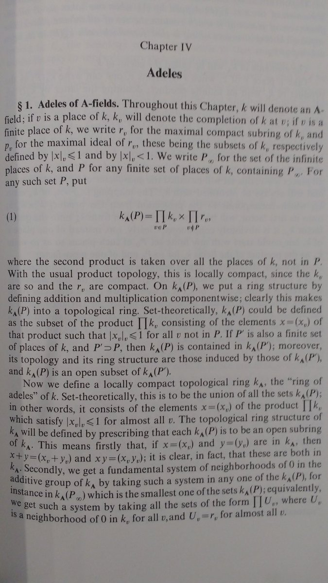 Adele(s) continues to impress, making her way in to graduate texts of Math #AndréWeil #BasicNumberTheory<br>http://pic.twitter.com/TsHMT1mGcK