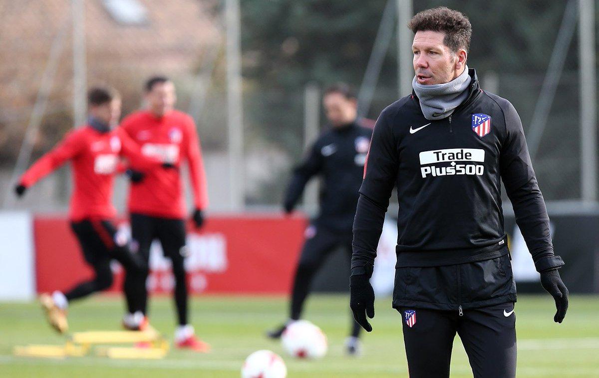DPtv-xmXkAETwQY Simeone ensaya once para la Copa - Comunio-Biwenger