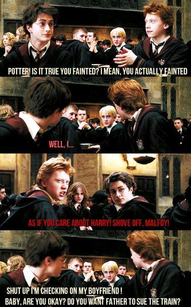 Гарри сучка малфой