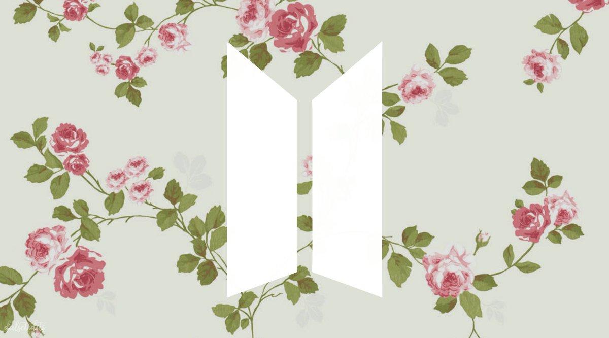 둘 셋 편집 On Twitter Bts Logo Desktop Wallpaper Cute Ver