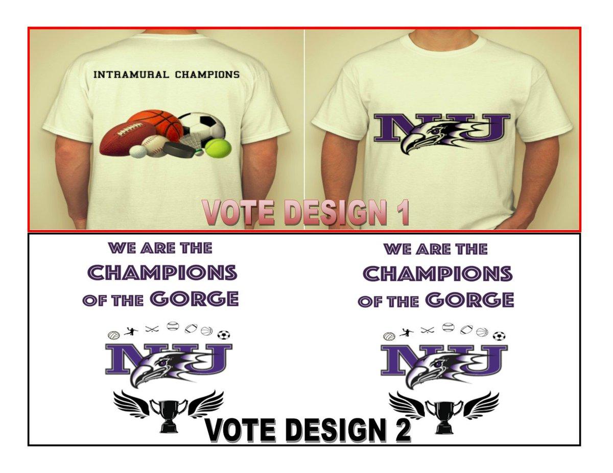 2d7f5526a Hit the link in our bio and vote for the next Intramural t-shirt design.  Voting will end at 12pm on Thursday, December  14th!pic.twitter.com/1QzRnb1pRr