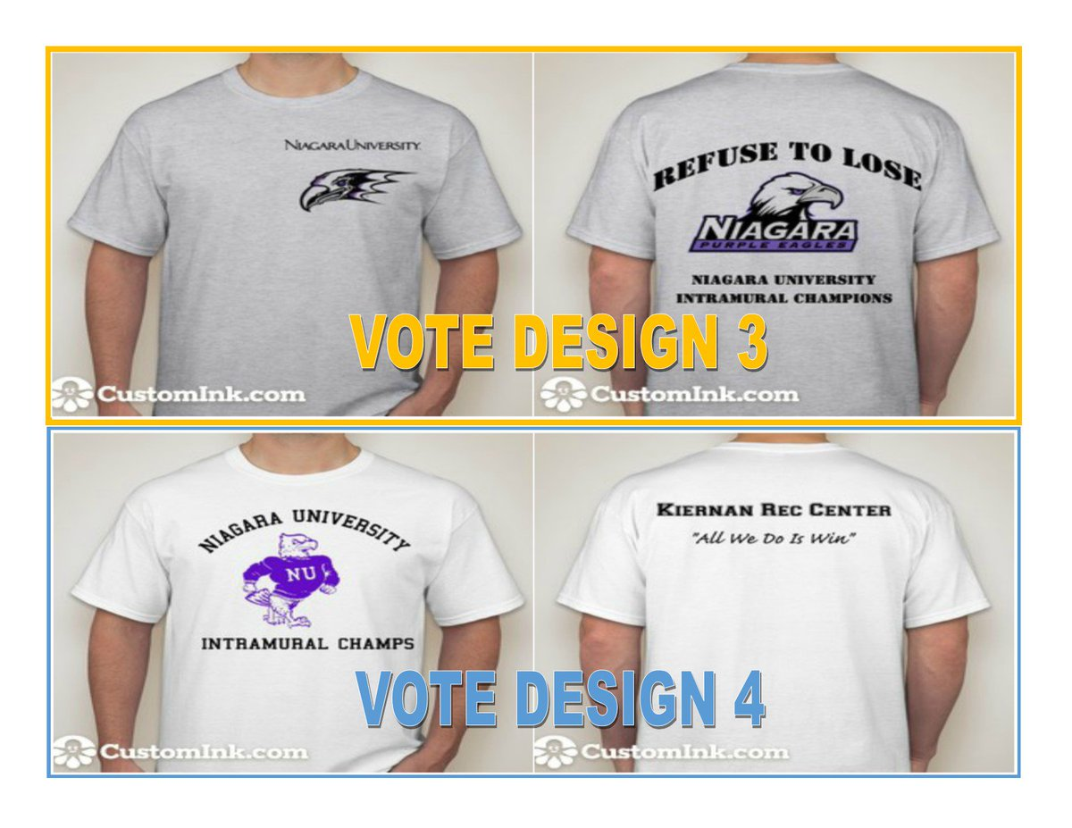 879062904 Hit the link in our bio and vote for the next Intramural t-shirt design.  Voting will end at 12pm on Thursday, December 14th!… ...