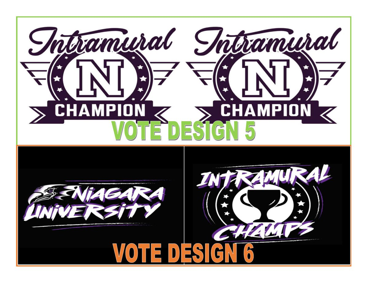 e4d24a0f0 We need your help! Hit the link in our bio and vote for the next Intramural  t-shirt design. Voting will end at 12pm on Thursday, ...