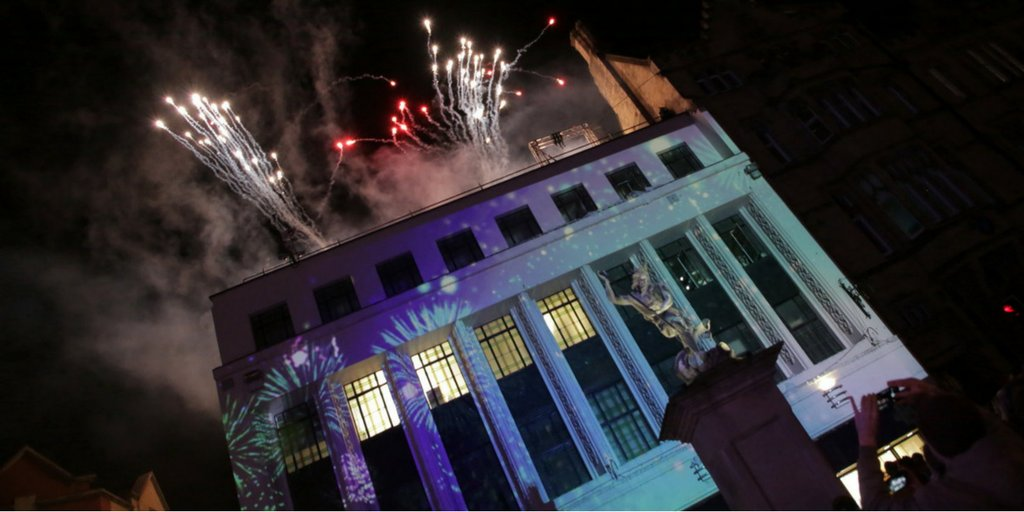 Durham Bid On Twitter Fireworks Signalled The Start Of