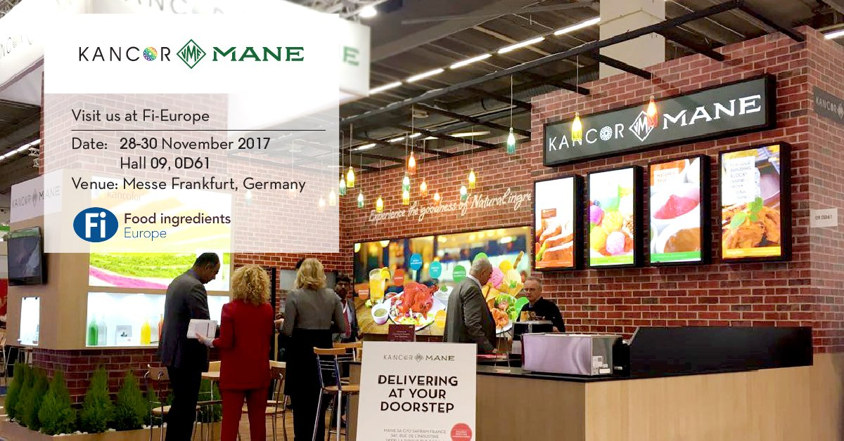naturalantioxidants and naturalcolours in the show visit us at our stand in hall no 9 stand no 0d 61 fi globalpic twitter com dvfrt43fb5