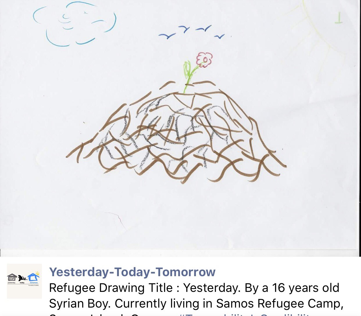 art and social justice sketches refugees