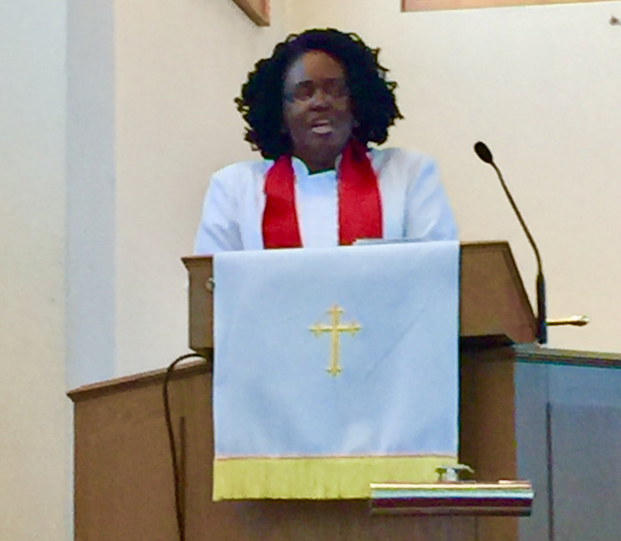 Pastor Terri McLellan, Shepherd Park Christian Church